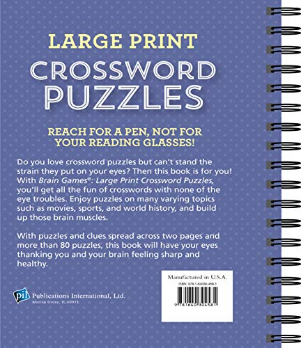 Buy books large print for seniors