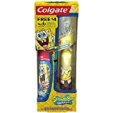 Colgate Powered Toothbrush & Toothpaste Set - Spongebob