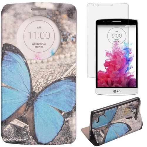 17 opinioni per Semoss Window View Retro Farfalla Custodia in Pelle per LG G3 PU Portafoglio