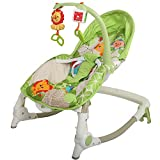 Baybee MyPlay Newborn To Toddler Portable Rocker Chair with Vibration and Music