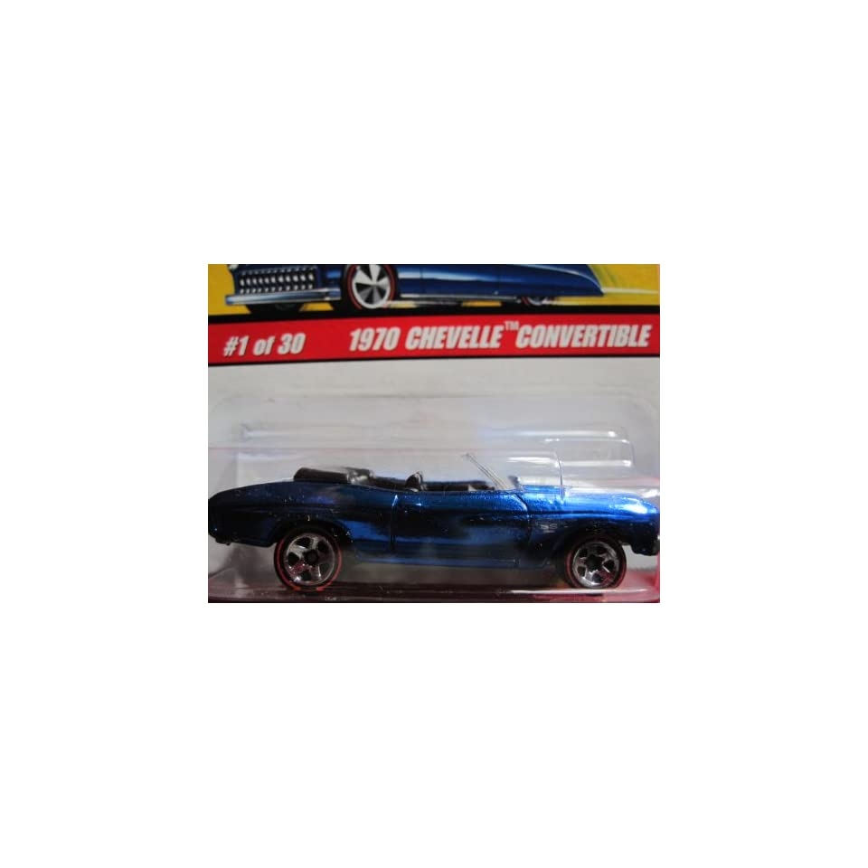 1970 Chevelle Convertible (Spectraflame Blue) 2005 Hot Wheels Classics Series 2