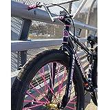 Vevina Unicorn Bicycle Spoke Skins Wraps BMX MTB