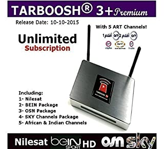 Tarboosh Plus Arabic Channels / English / Bein / ART / OSN / Kurdish / French / African Channels (B00QMZO7TM) | Amazon price tracker / tracking, Amazon price history charts, Amazon price watches, Amazon price drop alerts