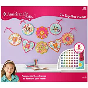 american girl crafts american crafts tie together frames kit 1043