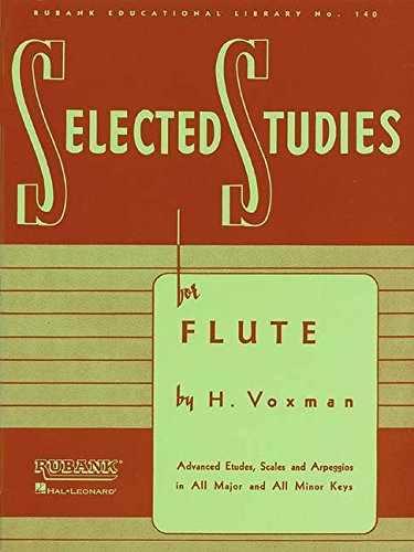 Selected Studies: for Flute (Rubank Educational Library) ()