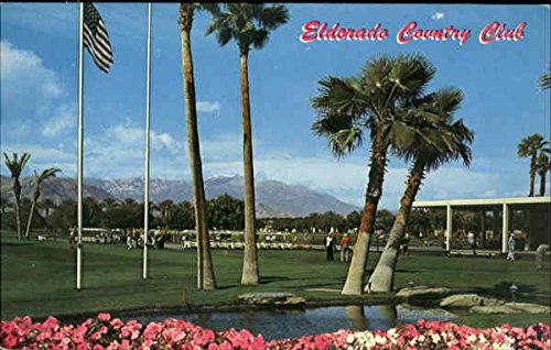 Eldorado Country Club Palm Desert  California Original Vintage Postcard