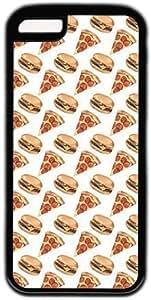 meilz aiaiCartoon Pizza And Hamburger Pattern Theme Iphone 5c Casemeilz aiai
