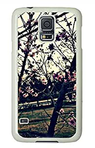 Beautiful Nature In Erbil White Hard Case Cover Skin For Samsung Galaxy S5 I9600