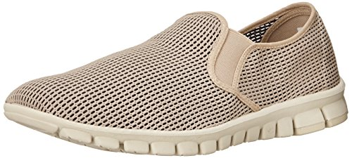 Nosox Mens Wino Slip-on Sneaker Taupe