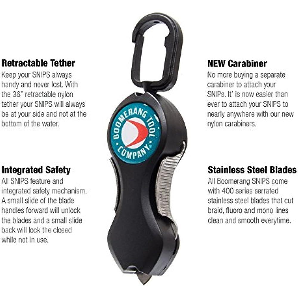 "36/"" Retractable Tether Boomerang Tool Company Original Snip Fishing Line Cutter"