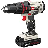 Porter-Cable PCC621LBR 20V Max Cordless Lithium-Ion Compact Hammer Drill Kit (Certified Refurbished)