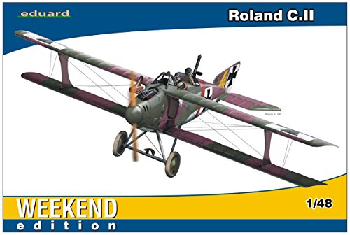 エデュアルド 1/48 ウィークエンドエディション ドイツ軍 ローランド C.2 プラモデル EDU8445