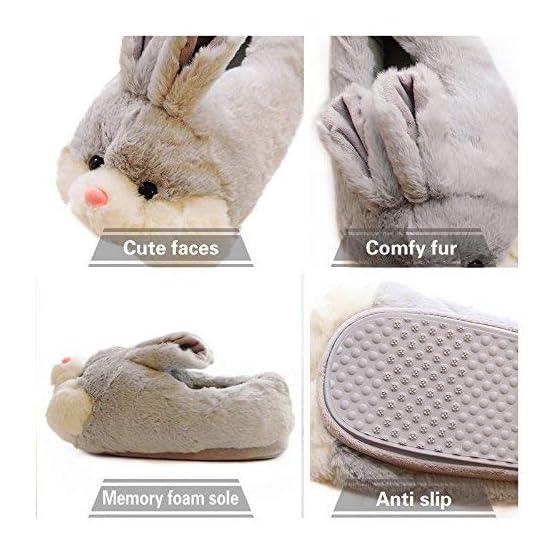 Bunny Slippers | Kawaii Plush Slippers 4