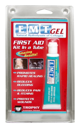 Trophy EMT Gel Colagen Wound Dressing for Pets, 1-Ounce, My Pet Supplies