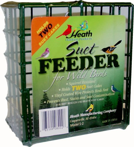 Heath Outdoor Products S-2 Double Suet Feeder