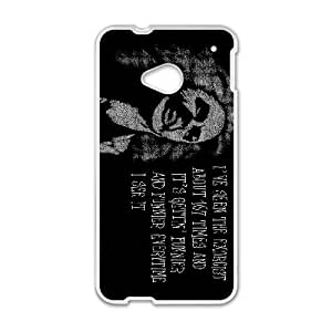 HTC One M7 Cell Phone Case White THE EXORCIST MEH Ctjae