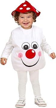 Disfraz de Seta pilzkostüm niños 90 – 104 cm 1 – 3 años de bebé ...