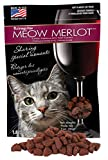 Omega Paws Meow Merlot Cat Treats, Small