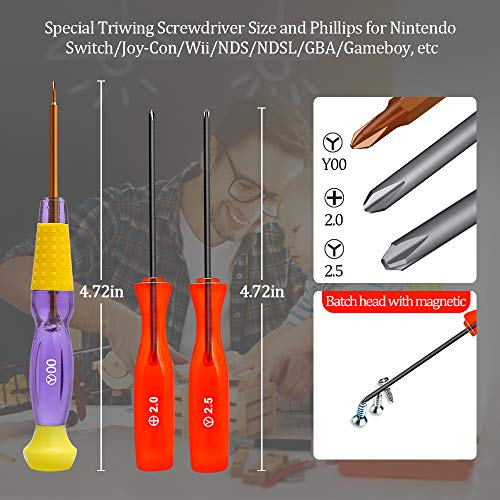 E Durable Game Consoles Screwdriver Kit for Nintendo Switch