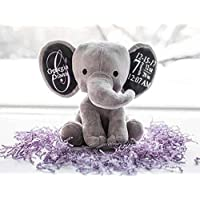 Personalized Birth Stat Elephant