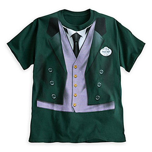 Disney Parks The Haunted Mansion Host Costume Tee for Men (Adult) - (Haunted Mansion Costumes)