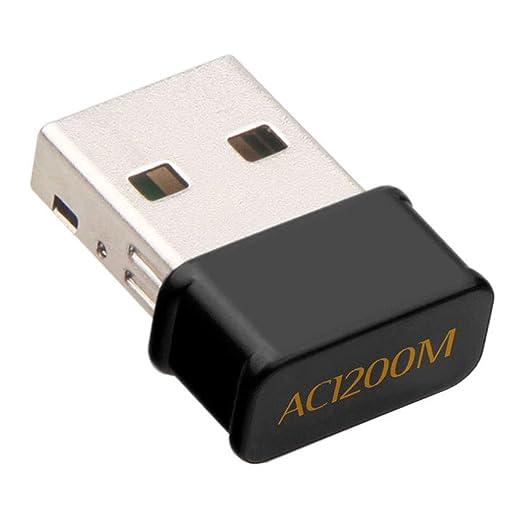 USB Wifi Adaptador 1200Mbps USB, Tarjeta de Red, Inalámbrico ...