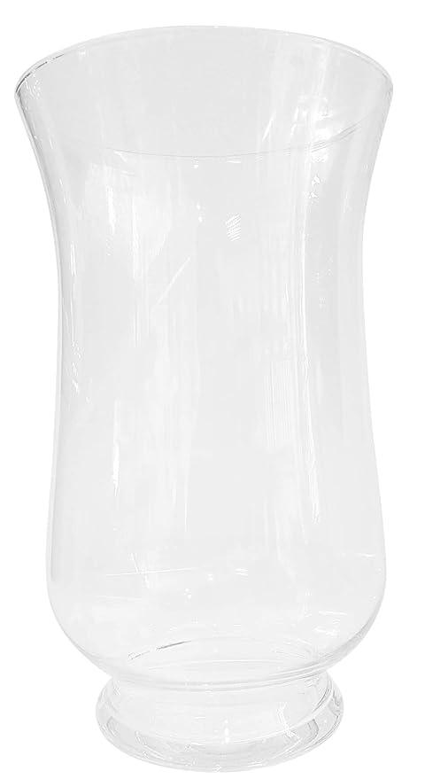 Gigante Jarron de suelo de cristal transparente, gran florero de vidrio claro soplado a boca , grandes ...