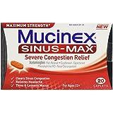 Mucinex Sinus-Max Severe Congestion Relief Caplets-20 ct