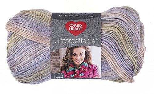 Coats Yarn E793-3932 Red Heart Boutique Unforgettable Yarn-Springtime 3Pk