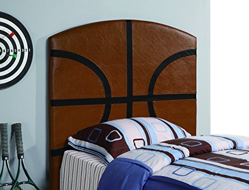 Coaster Home Furnishings Casual Twin Headboard, Brown by Coaster Home Furnishings