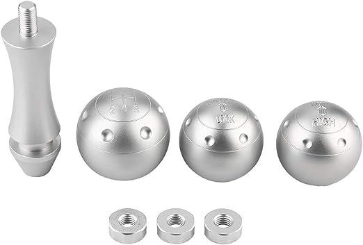 Broco 3pcs Set Aluminiumlegierung Auto Schaltknauf Shift Kopf For Lada Niva Auto