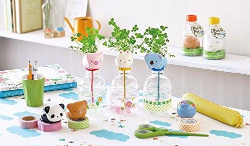 UPC 699939441192, ESPORT Mini Plant Pot Self Watering Animal Planter-Panda+Pig+Bear+Rabbit+Koala