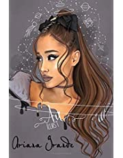 Ariana Grande Notebook : Great Notebook for School or as a Diary, Lined With 100 Pages, Journal, Notes and for Drawings