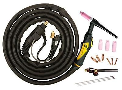 ESAB 0558102493 Model TXH 201 5/8 NPT12 5' TIG Torch Outfit