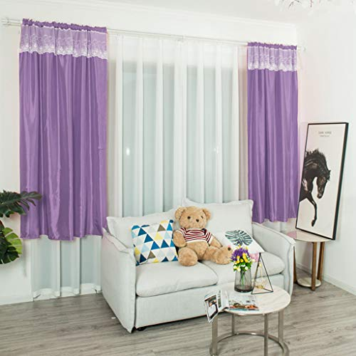 AMOFINY Home Textiles Leaves Curtain Tulle Window Treatment Voile Drape Valance 1 Panel Fabric from AMOFINY-Home Decoration