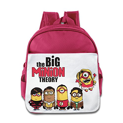 [JXMD Custom Funny The Big Yellow Theory Boys And Girls School Bagpack Bag For 1-6 Years Old Pink] (Alvin And The Chipmunks Costumes For Kids)