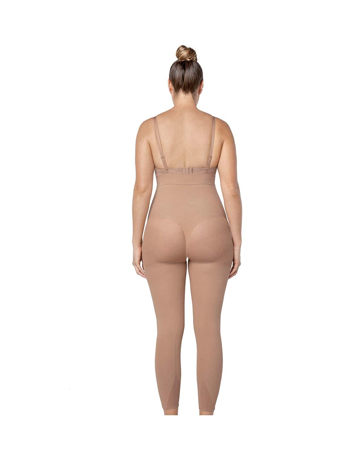 13a152aac074b Leonisa Women s Invisible Seamless Compression Bodysuit Control Shaper with Rear  Lift  Amazon.co.uk  Clothing