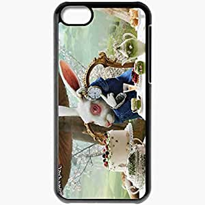 Personalized iPhone 5C Cell phone Case/Cover Skin Alice In Wonderland Alice In Wonderland Film Movies Black