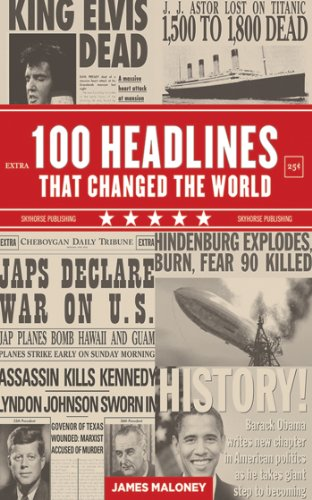 100 Headlines That Changed the World (Adhesive Postage)