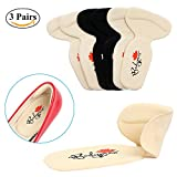 Heel Cushion Insole 3 Pairs, Back Heel Pads for High Heels Blisters