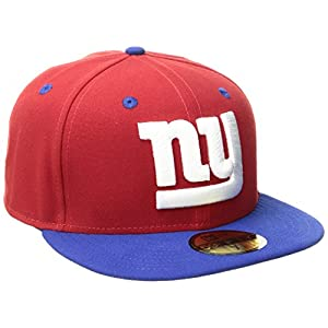 NFL New York Giants Two Tone 59Fifty Fitted Cap, Red/Blue, 7