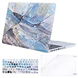 Mosiso Plastic Pattern Hard Case with Keyboard Cover with Screen Protector Only for MacBook Pro Retina 13 Inch No CD-Rom (A1502/A1425, Version 2015/2014/2013/end 2012), Abstract Irregularity Scrawl