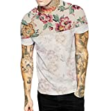 unit clothing t shirts - iYYVV Men's T-Shirt Casual Ripped Hole Short Sleeve Tops