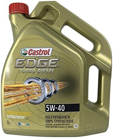 Castrol 154f59 Edge Turbo Diesel 5w40 Schmierstoff 5l Auto