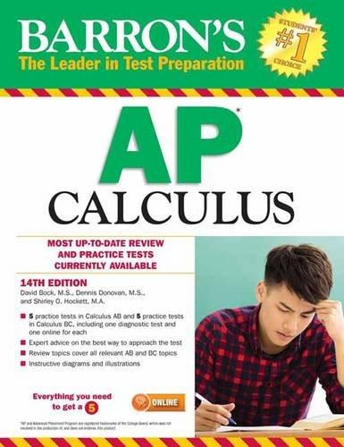 1438008597 - Barron's AP Calculus, 14th Edition