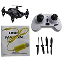 NiGHT LiONS TECH Black X165 2.4G RC 3D Tumbling RC Mini Quadcopter pocket Drone RTF