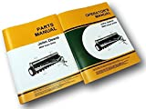 John Deere 8000 8100 8200 8300 Grain Drill Operators Owner Parts Manual Catalog