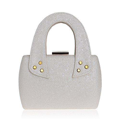 Noir FUBULE pour Pochette Noir Silver Femme wnq4C6U
