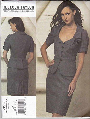 - Vogue Patterns V1169 Misses' Jacket And Skirt, Size EE (14-16-18-20)