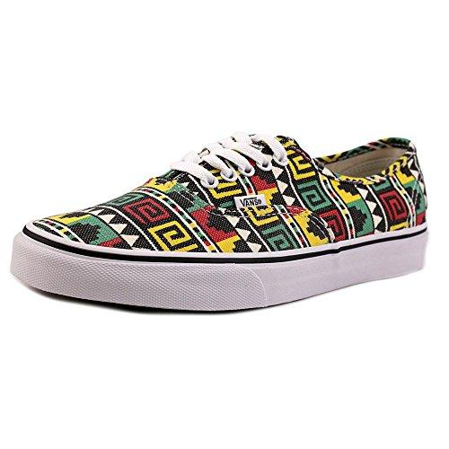 Vans Jaune Multicolore Basses Sneakers Adulte Authentic Mixte Yxr6wqYOf